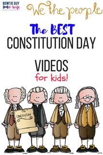Kid-Approved Constitution Day Videos & a FREEBIE!