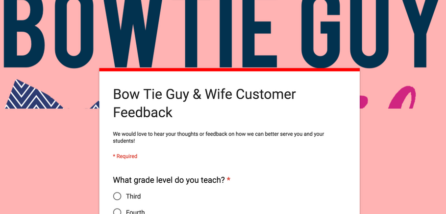 Customer Feedback Survey & A Chance to WIN!