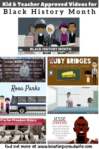 Black History Month Kid Friendly Videos