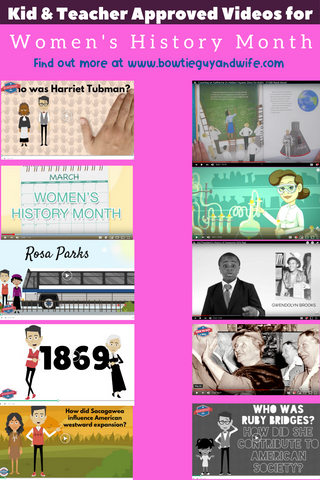 Women's History Month Activities and Lesson Ideas by Bow Tie Guy & Wife