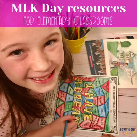 martin luther king jr. activities for kids