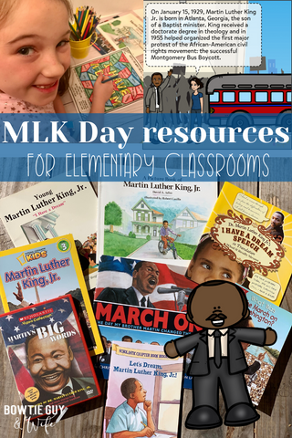 Martin Luther King, Jr. Day resources for elementary classrooms