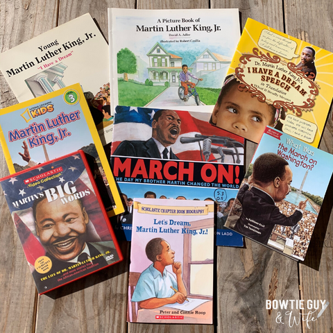 Martin Luther King Jr. printables for kids