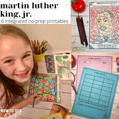 Martin Luther King Jr. elementary activities