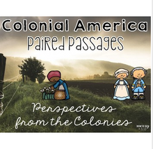 Load image into Gallery viewer, 13 Colonies Paired Passages: Perspectives of Colonial America