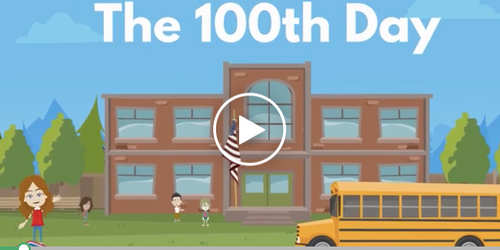 100th day video for kindergarten