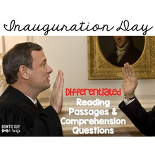 Load image into Gallery viewer, #kindnessnation #weholdthesetruths Inauguration Day Nonfiction Reading Passages