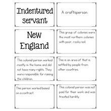 Load image into Gallery viewer, 13 Colonies Word Work {Social Studies Vocabulary Practice}