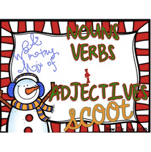 Load image into Gallery viewer, A Wintry Mix of Nouns, Verbs, & Adjectives
