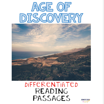 Age of Discovery Differentiated Reading Passages