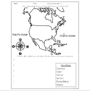 Age of Exploration Test for Early European Explorers
