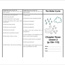 Load image into Gallery viewer, Air, Water Cycle, Weather, & Climate Houghton Mifflin 4th Grade Science Ch. 3