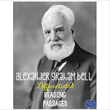 Load image into Gallery viewer, Alexander Graham Bell Differentiated Reading Passages