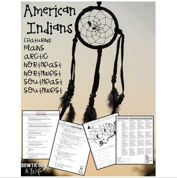 American Indian Assessment {GA Milestone Constructed Response Included}
