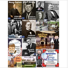 Load image into Gallery viewer, American Presidents Differentiated Reading Passages