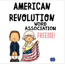Load image into Gallery viewer, American Revolution Word Association