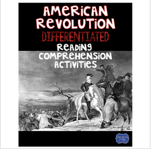 Load image into Gallery viewer, American Revolutionary War with England Differentiated Activities