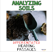 Load image into Gallery viewer, Analyzing Soils from Ecosystems Differentiated Nonfiction Reading Passages