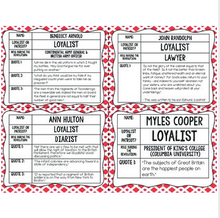 Load image into Gallery viewer, American Revolution Task Cards for Perspectives & Point of View