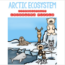 Load image into Gallery viewer, Arctic Ecosystem Crossword