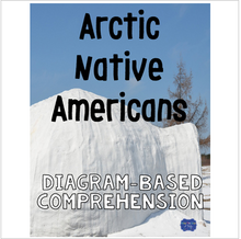 Load image into Gallery viewer, Arctic Native Americans Diagram & Comprehension Questions