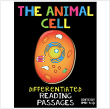 Load image into Gallery viewer, Animal Cell Differentiated Nonfiction Reading Passages