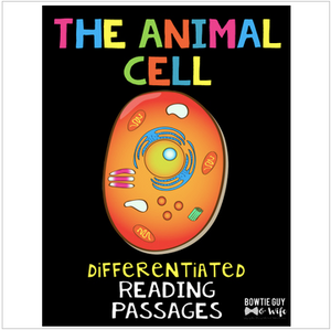 Animal Cell Differentiated Nonfiction Reading Passages