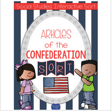 Load image into Gallery viewer, Articles of Confederation {Interactive Notebook Sort}