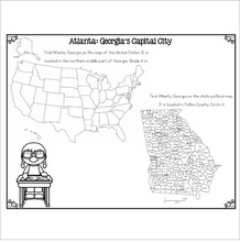 Load image into Gallery viewer, Atlanta Differentiated Reading Passages & Questions