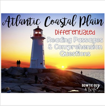 Load image into Gallery viewer, Atlantic Coastal Plain {Differentiated Close Reading Passages & Questions}