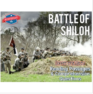 Battle of Shiloh Differentiated Reading Passages