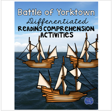 Load image into Gallery viewer, Battle of Yorktown Differentiated Activities