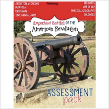 Load image into Gallery viewer, Battles of the American Revolution Assessment
