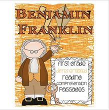 Load image into Gallery viewer, Benjamin Franklin FREEBIE Reading Passage