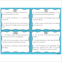 Load image into Gallery viewer, Benjamin Franklin Reading Fluency & Comprehension Task Cards