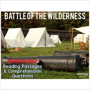 Battle of the Wilderness Differentiated Reading Passages