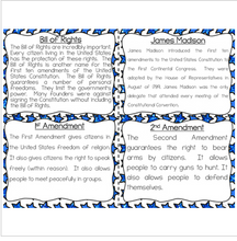 Load image into Gallery viewer, Bill of Rights Reading Fluency & Comprehension Task Cards