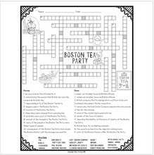 Load image into Gallery viewer, Boston Tea Party Crossword
