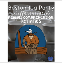 Load image into Gallery viewer, Boston Tea Party Differentiated Activities