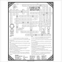 Load image into Gallery viewer, Causes of the American Revolution Crossword