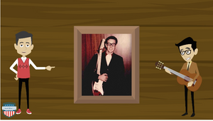 Buddy Holly music biography video
