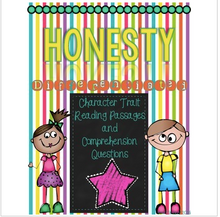 Load image into Gallery viewer, Character Traits: Honesty Differentiated Reading Passages & Questions