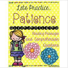 Load image into Gallery viewer, Character Traits: Patience Differentiated Reading Passages