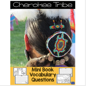 Cherokee Tribe Mini Book