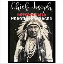 Load image into Gallery viewer, Chief Joseph Reading Passages Leveled Texts