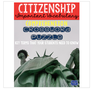 Citizenship Crossword