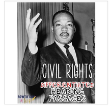 Load image into Gallery viewer, Civil Rights Differentiated Reading Passages (Martin Luther King & Rosa Parks!)