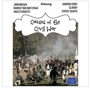 Civil War Causes Test