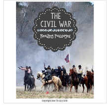 Load image into Gallery viewer, Civil War Differentiated Reading Passages