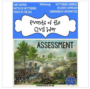 Civil War Events Test